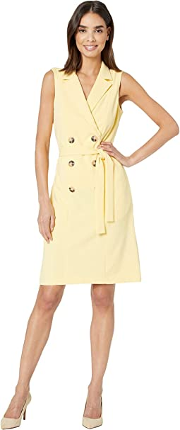 fb3761672406f Donna morgan double breasted coat dress | Shipped Free at Zappos
