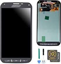 KR-NET Display LCD Touch Screen Digitizer Assembly for Samsung Galaxy S5 Active AT&T G870A w/Buttons + Tools (Titanium Gray)