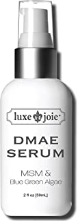 Sponsored Ad - DMAE MSM Facial Serum 2 oz Lifts Tightens Plumps Firms For Dry Skin Reduce Wrinkles Lines Sagging Anti-Aging
