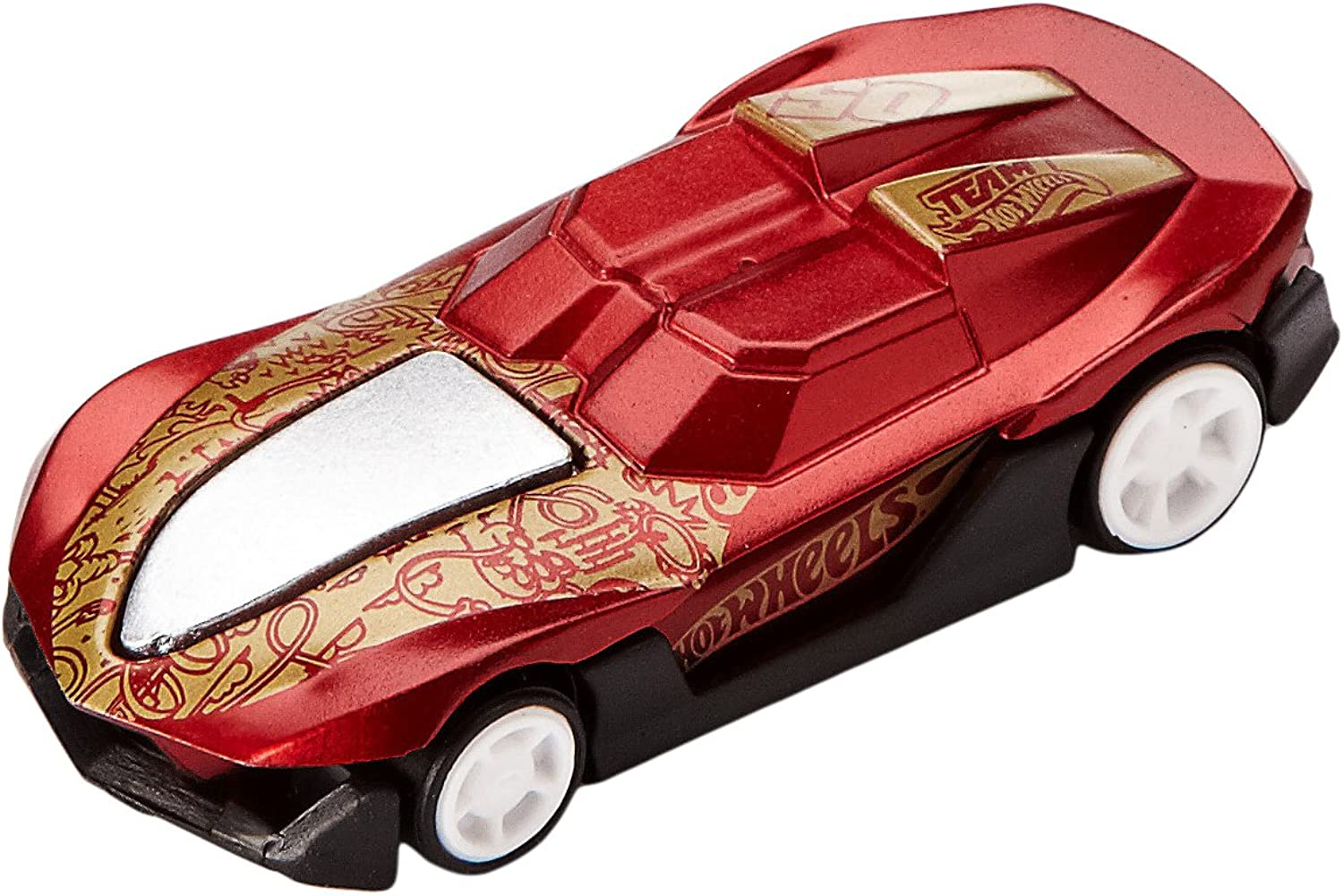 Mattel X3155 - Hot Wheels Apptivity iCar Yer so fast, Digitales Rennspiel für iPad