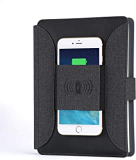 Phone Wireless Charging Padfolio/Business Travel Portable Notebook Power Bank/Battery Charger/Wireless Charging Padfolio Power Bank / 2019 Updated