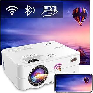 "Beamer WiFi Bluetooth, Artlii Enjoy2 Mini Beamer, Native 1080p Full HD Ondersteund, Home Theater Projector Max 300"" Scher..."