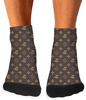 GuLuo Mens Short Dress Socks Awesome Sports Crew Socks Compression Winter Socks