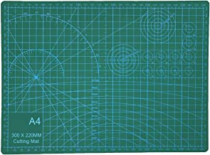 EKIND Self Healing Cutting Mat, Double Sided Engraving Board, Durable Non-Slip 3mm Thick Professional Gridded Rotary Mat C...
