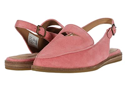 Sperry Saybrook Slingback (Coral Pink Nubuck Leather) Women