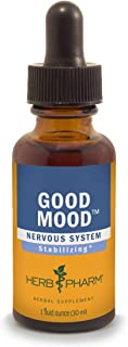 Herb Pharm Good Mood Liquid Herbal Formula with St. John's Wort for Healthy Emotional Balance - 1 Ounce