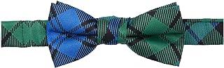 Jacob Alexander Boys' Royal Tartans Plaid Adjustable Pre-Tied Banded Bow Tie
