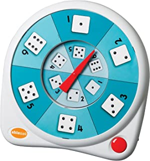 AbleNet 10070003 All-Turn-It Spinner, Includes a Dice Overlay Set and Separate Instructions for Play with Numerous Games a...