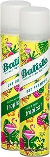 Batiste seco Champú Dry Coconut & Exotic Tropical fresca pelo para todos los tipos de cabello 2unidades (2x 200ml)