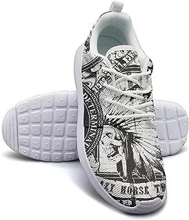 Yang-C Mens Walking Athletic Shoes Black-Label-Society-Birds-Order-of-The-Black-Skull- Comfort Casual Sneaker Trail Running Shoe