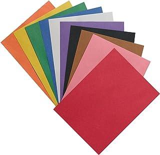 "SunWorks Construction Paper, 10 Assorted Colors,  9"" x 12"", 50 Sheets"