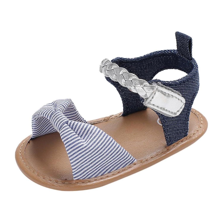 Kukiwa柔らかいサンダル 女の子 学步靴 ベビーシューズ ベビー靴 赤ちゃん靴 滑め防ぐ靴 室内履き シューズ女の子 ホームシューズ 履き脱ぎやすい プレゼント 出産の祝い