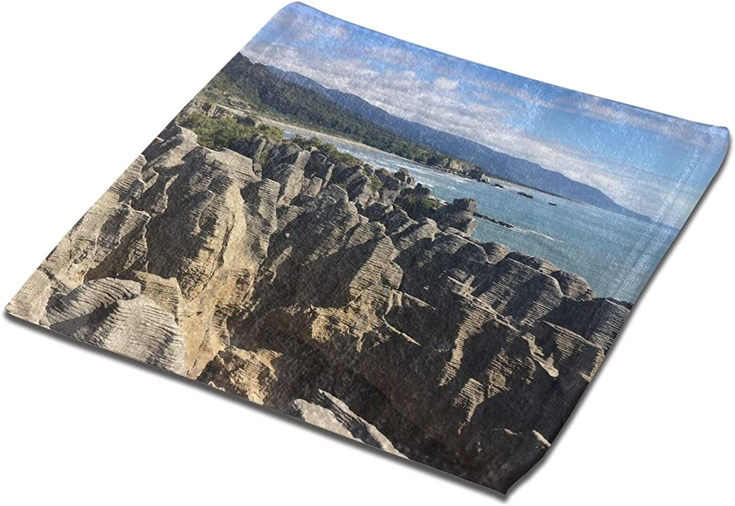 Towels Rocks Scenic Printed Hand Tow Absorbent Ultra Max 67% OFF Face 4 years warranty