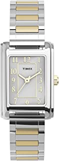 Timex Women's Meriden 21mm Watch – Two-Tone with Expansion Band