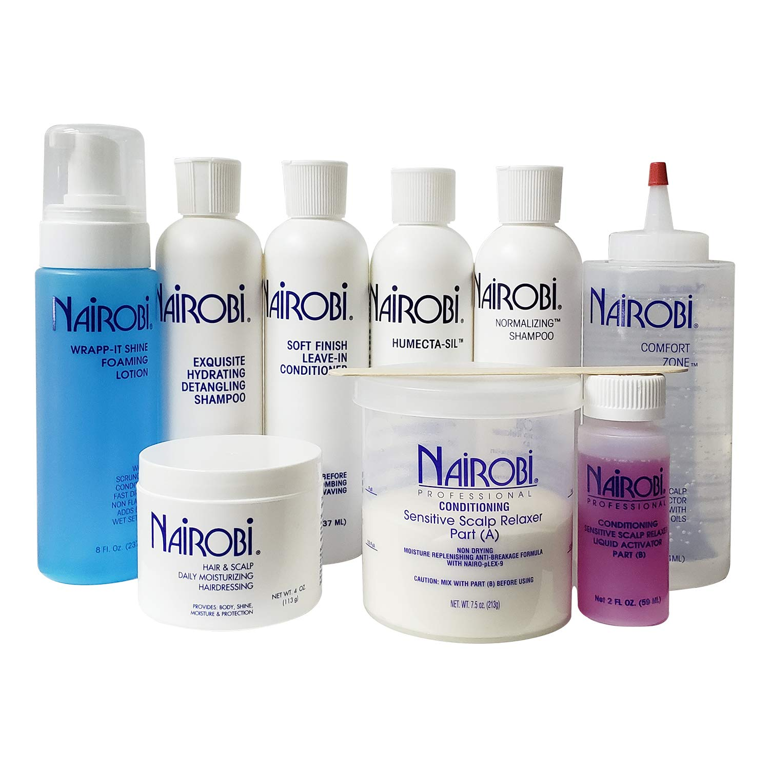 Nairobi Sensitive Scalp Relaxer System Buy Online In South Africa At Desertcart Productid 13339263