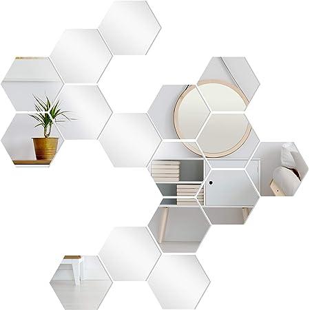 Pineapple Mirror Wall Sticker Acrylic Vinyl Decal Home Decor Diy Removable Art