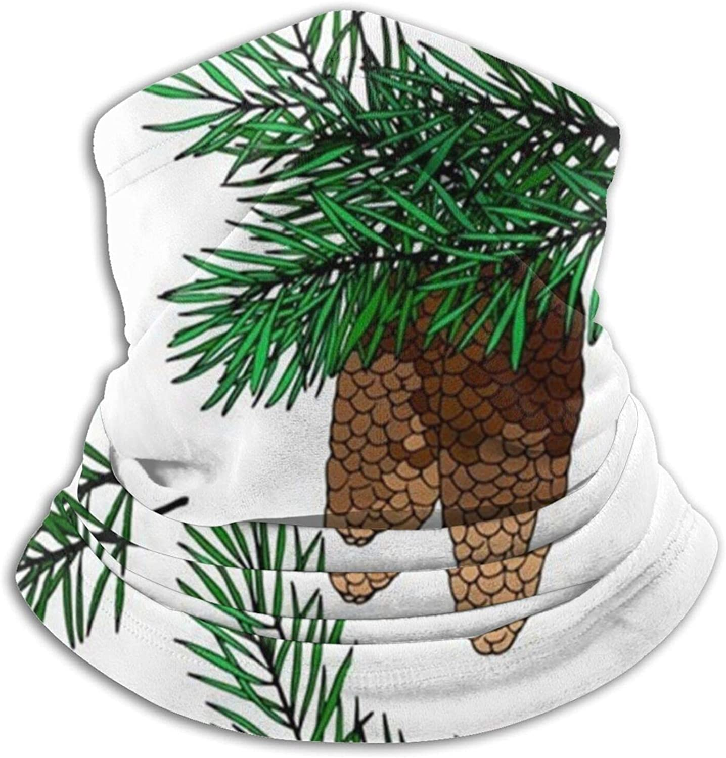 Fir Branches Cones Acorn Nature Al sold out. Neck Windproof - Warmer Super-cheap N Winter