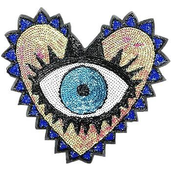 Aufnäher Patch Modell Winged Eye Größe ca.14,8 cm auf 8,0 cm