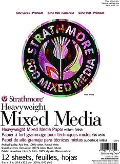 Strathmore (584-9 500 Series Heavyweight Mixed Media, 9