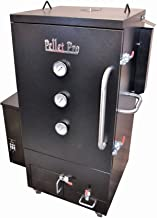Pellet Pro 2300 Vertical Pellet Smoker Double Walled Cabinet with 10cu Feet of Cooking Area and Free Cover