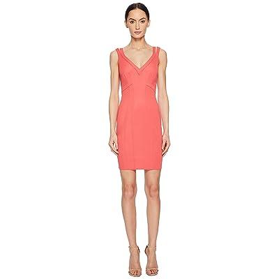ZAC Zac Posen Gemma Dress (Coral) Women