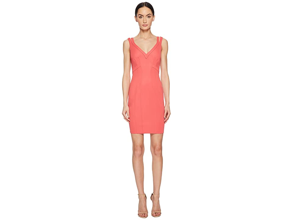ZAC Zac Posen Gemma Dress (Coral) Women