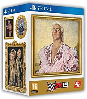 PS4 WWE 2K19 Wooooo! Edition (IMPORT-REGION 2/PAL) with Ric Flair Funk Pop! Figure and More!