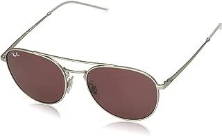 Ray-Ban RB 3589 SILVER/DARK VIOLET 55/18/140 women Sunglasses