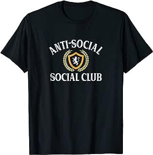 Anti-Social - Social Club - Vintage Retro - T-shirt