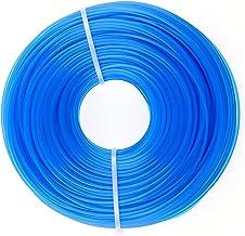 PLCatis Strimmer Line 100m x 1.6mm Break Less Strimmer Wire Nylon Strimmer Cord Energy Saving Blue Round Trimmer Line Spoo...