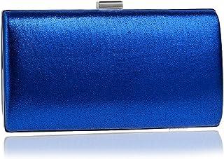 Shoulder Bag Dinner Party Bag Fashion Banquet Party Dress Clutch Bag Evening Bag Evening Package Handbag Clutch (Color : Blue)