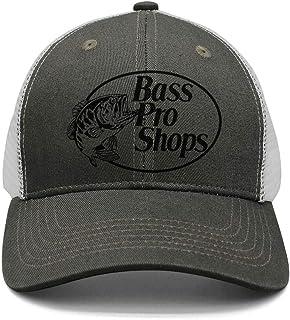 73f2b8200ba74 New Adjustable Mesh Unisex Black-Fish-Bass-Pro-Shops-Logo-