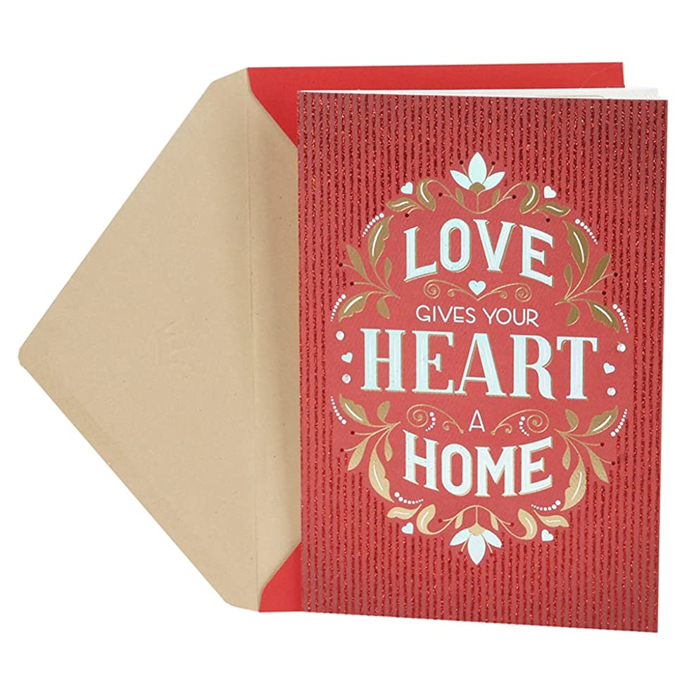 Hallmark Valentine's Day Card for Significant Other (Love Heart Home)