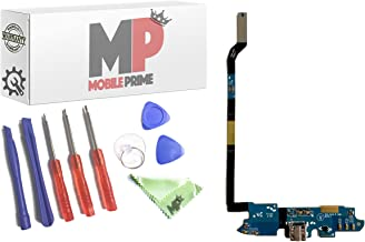 MobilePrime Charging Port Replacement Kit Compatible for Samsung Galaxy S4 I545 Including Repair Tools