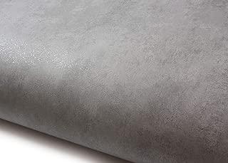ROSEROSA Peel and Stick PVC Faux Concrete Decorative Instant Self-Adhesive Covering Countertop Backsplash Light Gray (LW821 : 2.00 Feet X 6.56 Feet)