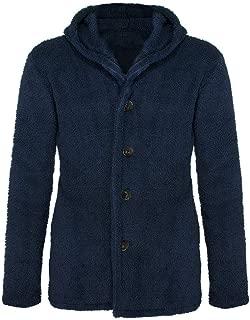 wuliLINL Mens Casual Lightweight Cardigan Jackets Casual Fleece Coat Outerwear Windbreaker