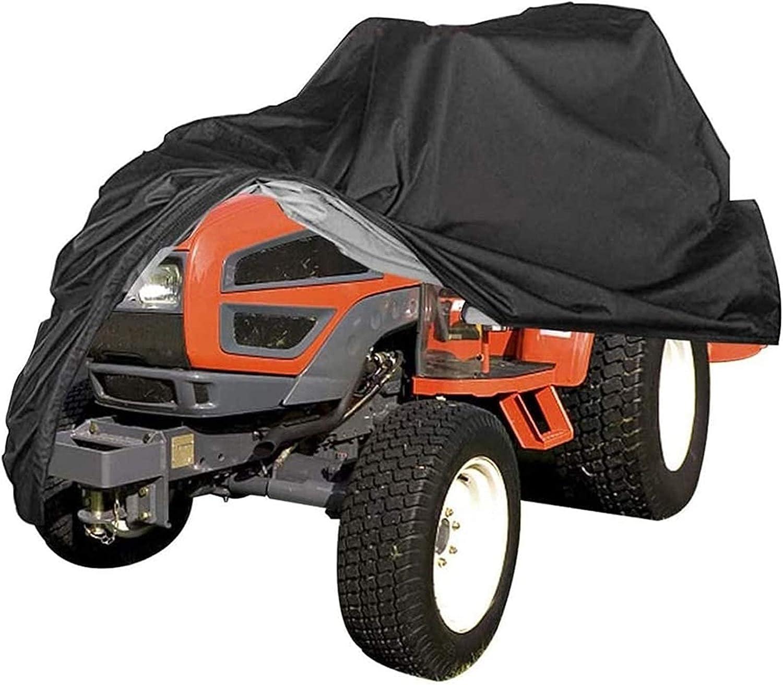 JLKDF Funda Impermeable para cortacésped Funda para Tractor Protección Universal Antipolvo en poliéster Oxford 210D (Color: (170 * 61 * 117) cm)