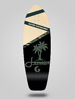 Glutier Surfskate Deck Surf Skate Jamaica Wood 31...