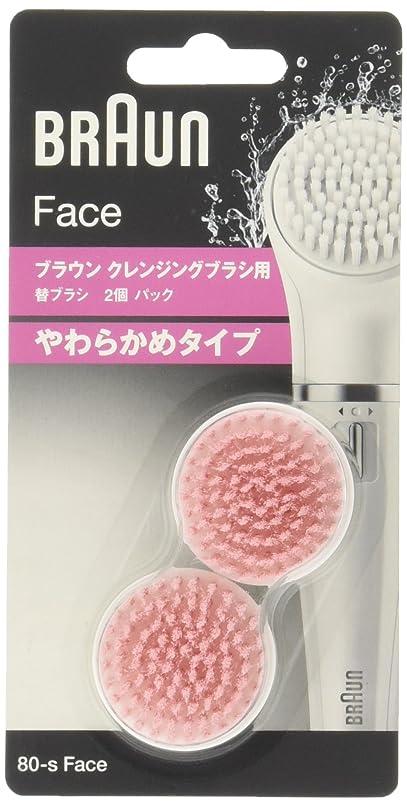 事故部屋を掃除する抽象化ブラウン 洗顔ブラシ 顔用脱毛器(ブラウンフェイス)用 敏感肌用 80-s Face