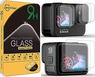 Jasinber 6 Unidades Mica Vidrio Cristal Templado Protector d
