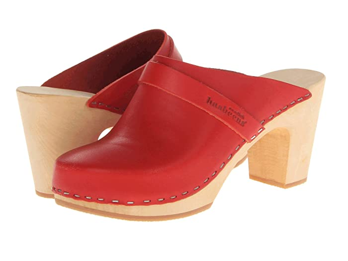 70s Shoes, Platforms, Boots, Heels | 1970s Shoes Swedish Hasbeens Slip In Womens Clog Shoes $280.00 AT vintagedancer.com