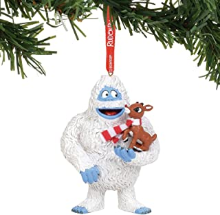 Department 56 Rudolph The Red-Nosed Reindeer with Bumble Hanging Ornament, 4
