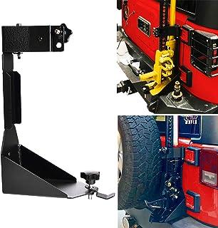 OMOTOR Off-Road Tailgate Hi-Lift Jack Mount Bracket fit for Jeep Wrangler JK 2007 2008 2009 2010 2011 2012 2013 2014 2015 ...