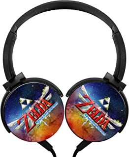 $21 » Legend_Zelda_Skyward_Sword_Logo Wired Stereo Headphone Noise Cancelling Headset Portable Earphone Earpiece Over Ear