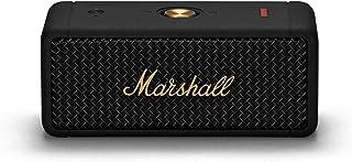 Marshall Emberton Portable Bluetooth Speaker - Black and Brass