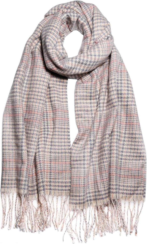 SOJOS Winter Warm Tartan Plaid Cl Checked Fashionable Oklahoma City Mall Soft Scarf Houndstooth