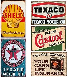 vintage oil signs