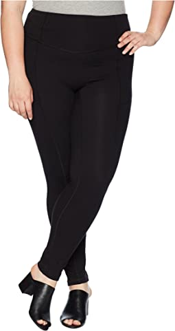 Plus Size Hold It High-Waist Cotton Leggings