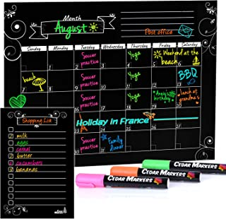 Best magnetic chalk calendar Reviews