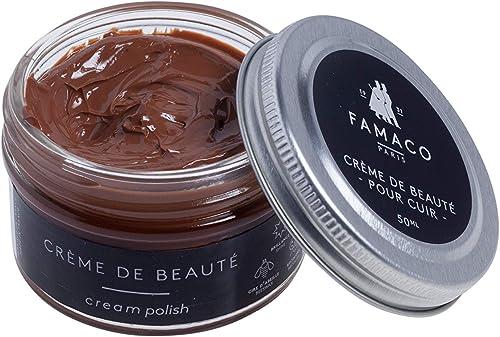 Famaco - Crème de Beauté - Pommadier 50 ml - Ravive les couleurs - Imperméabilise - Brillance longue durée